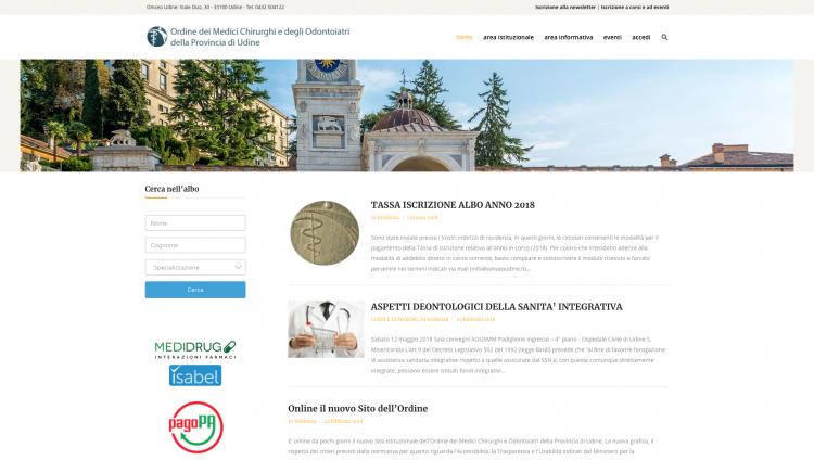 Omceo | Ordine dei medici chirurghi e degli odontoiatri della Provincia di Udine