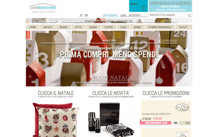 Casabiancheria | Italian home fashion