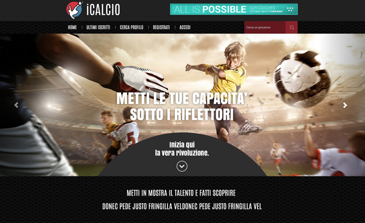 iCalcio | Not Only Talent
